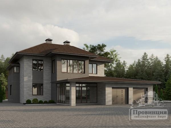 Частный дом, Смоленск, июль 2021